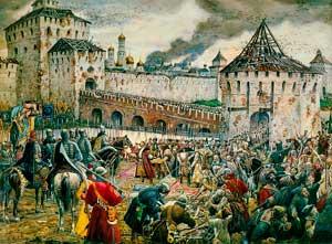 Изгнание поляков из Кремля. Э. Лисснер